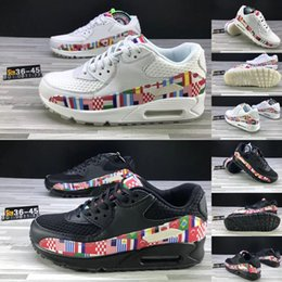 ec0606f2fb1 Running World Shoes Australia - Blanc couleur multiple NIC QS World Cup  International Flag Pack Running