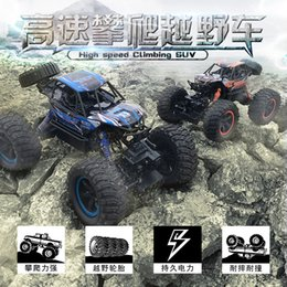 Discount remote drift car toy - RC Car 2.4G 4CH Rock Crawlers Driving Bigfoot Car Remote Control Car Model OffRoad Vehicle Toy wltoys traxxas rc drift