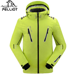 $enCountryForm.capitalKeyWord Australia - Free Shipping NEW Guarantee Authentic!Pelliot Male Ski Suits Jacket Men's Thermal Cottom- Padded Snowboard men ski jacket