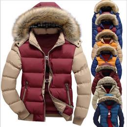 b7cf386b04c Hot Sale Plus Size Parkas Men Hooded Down Jacket Coat Thick Winter Jackets  Warm Duck Down Men s Hooded Packable Outwear Jacket