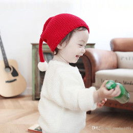 $enCountryForm.capitalKeyWord Australia - Baby Beanie Hat For Boys Girls Cap Cotton Knitted Hair Ball Autumn Winter Warm Children Hats Ourtwear Caps