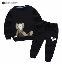 $enCountryForm.capitalKeyWord UK - Kids Sets Kids T-shirt And Pant Children Cotton Sets Baby Boys Girls Summer Suit Baby Sport Suit 3T-7T