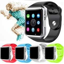 Smart Watch Android Sync Australia - Wholesales price hotsell Smart Watch A1 Clock Sync Notifier Support SIM TF Card Connectivity For ios Android Smartwatch
