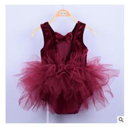 Mini aMerican girl clothes online shopping - Kids Designer Clothes Girls Ballet Dress Princess Sleeveless Party Dance Clothes Kids Dresses Colors Dancewear