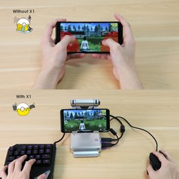 free pc keyboard mouse NZ - GameSir X1 Battle Dock PUBG Mobile Controller Joystick Stand Docking FPS Games keyboard Mouse Legends Gamepad Free Fire