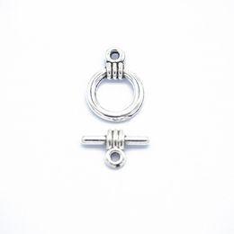 Toggle Pendants NZ - 500 Sets Braid Hemp Toggle Clasp OT Hook Connector Pendant Charm Finding,Fit Charm Bracelet Necklace,DIY Accessor