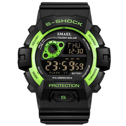 2019 new watch sports waterproof single men's watch multi-function electronic from stars leather manufacturers