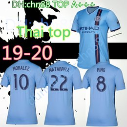 abf67fec3 2019 New York City soccer jersey home 19 20 MLS LAMPARD 8 PIRLO 21 MCNAMARA  MORALEZ DAVID VILLA 7 football shirts top quality