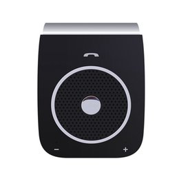 multipoint bluetooth car kit Australia - Bluetooth Car Kit Handsfree Noise Cancelling Receiver Car Speakerphone Multipoint Clip Sun Visor #@30