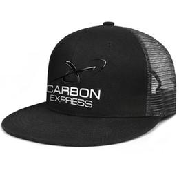 Cotton Express Australia - Womens Mens Plain Adjustable Carbon Express Archery Logo Rock Punk Cotton Baseball Cap Summer Hats Cadet Army Caps Airy Mesh Hats For Men Wo