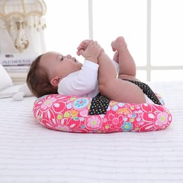 Wholesale Baby Pillow Newborn Baby Breastfeeding Pillow Mat Infant Sit Sleeping Fixed Positioner Cushion Infant Bedding Head Protection