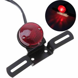 $enCountryForm.capitalKeyWord NZ - Motorcycle modified Harley Cruise Prince car modified vintage metal rear taillight brake light license plate Harley taillight