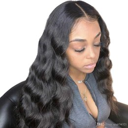 $enCountryForm.capitalKeyWord UK - Body Wave 360 Lace Frontal Wig Pre Plucked With Baby Hair Brazilian Human Remy Hair Swiss Lace Front Long Wigs