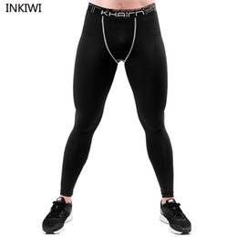 Discount sports bodybuilding - 5XL-6XL Men compression pants Basketball Gym quick dry lycra fitness joggers tights men sports running bodybuilding trou