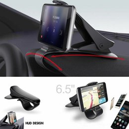 $enCountryForm.capitalKeyWord Australia - Universal GPS Dashboard Cell Phone Car Mount Holder Stand Mount Bracket HUD Cradle Clip with Retail Package