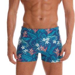 83cb2ced2da6f swimwear men 2019 swimsuit bikinis with flower swimwear mens nylon swim  trunks elastic swimming trunks banadores mayo sungas