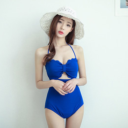 $enCountryForm.capitalKeyWord Australia - 2019 Korean Beach Swim Wear Bathing Suit Lady Swimming Monokini Bodysuits Women Beachwear One Piece Swimsuit Push up Swimwear Bikinis Set