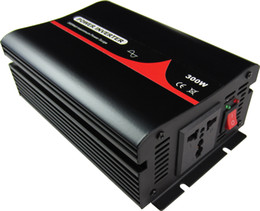 Wholesale 300W 12 24 48V to 100 110 120 220 230 240VAC 50 60Hz residential home high frequency use pure sine wave off grid inverter300VA 300W single p