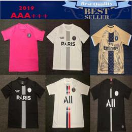 a3bb8ead178b 19 20 Paris soccer jersey 2019 2020 mbappe CAVANI PSG Champions League  football shirts survetement maillot de foot customize uniform shirt