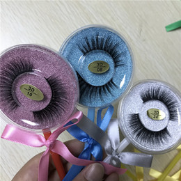 $enCountryForm.capitalKeyWord Australia - Lollipop Box Top Quality false eyelash 3D Mink strip silk lashes thick fake faux eyelashes 26 style DHL free
