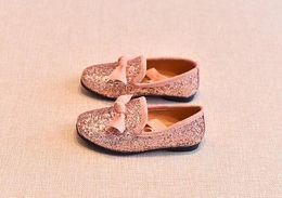 $enCountryForm.capitalKeyWord NZ - 2019 designer shoes kids shoes girl luxury shoes Bow Sequin Children birthday present gift 343