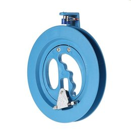 $enCountryForm.capitalKeyWord UK - 18cm Kite Reel Winder Fire Wheel Flying Handle Tool Twisted String Line Outdoor Round Blue Grip For Kite Accessories