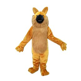 Custom Made Costume Movie UK - Wolf Custom Mascot Costume Adult Size Cartoon Costume With Fan Inside Head For Commercial Advertising promotion