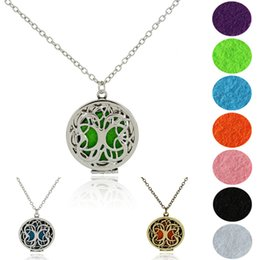 $enCountryForm.capitalKeyWord Australia - 2019 Charm Tree of Life Locket Pendant Necklaces for Men Women Jewelry Essential Oil Diffuser Necklace Sweater Chain Christmas Gift B416Q F