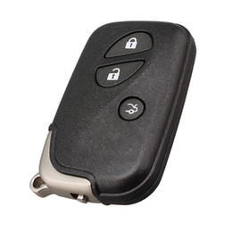 $enCountryForm.capitalKeyWord Australia - Car Styling 3Buttons New Replacement Smart Remote Key Shell Case Fob for Lexus with Uncut Blade