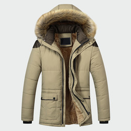 $enCountryForm.capitalKeyWord Australia - 2019 Fashion Casual Slim Thick Warm Mens Coats Parkas with Hooded Long Overcoats Male Clothes Winter Jacket Men Brand Clothing