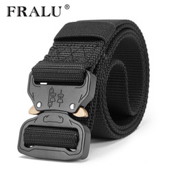 Chinese  New Nylon Belt Men Army Tactical Belt Molle Military SWAT Combat Belts Knock Off Emergency Survival Waist Tactical Gear Dropship manufacturers