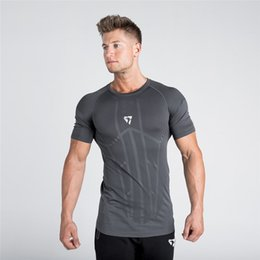 In Quality Vertvie Mens Short Sleeve T-shirts Running Shirt Quick Dry Compression Slim T-shirts O-neck Tee Shirts Gym Workout Sportswear Superior