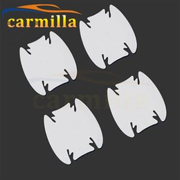 Discount ecosport accessories - Carmilla Car Exterior Protection Film Door Bowl Sticker for Ecosport Fiesta 2013 2014 2015 2016 2017 Accessories