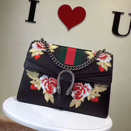 $enCountryForm.capitalKeyWord NZ - 189 flower embroidery shoulder bag Women Handbag Top Handles Shoulder Bags Crossbody Belt Boston Bags Totes Mini Bag Clutches Exotics