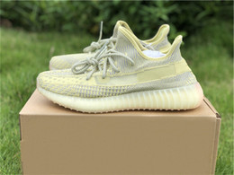 wide running shoes for women Australia - Authentic 350s V2 Antlia Fv3250 Kanye West Running Shoes For Men Women Synth Lundmark Reflective 3m Black Fu9161 Sports Running Shoes