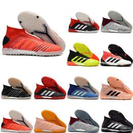 2019 chaussures de football de nouvelle qualité Predator 19 TF chaussures à crampons pour hommes, chaussures de football en salle Predator tango 19 chaussures de football Archetic en Solde