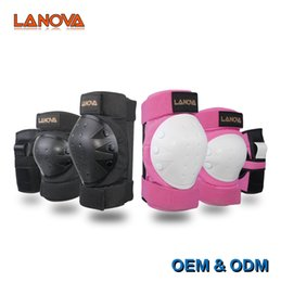 $enCountryForm.capitalKeyWord Australia - LANOVA Adult   Child Knee Pads Elbow Pads Wrist Guards 3 In 1 Protective Gear Set For Skateboarding Inline Roller Skating #71307