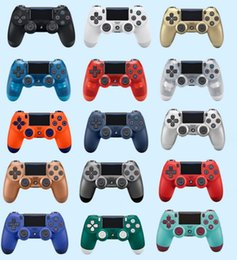 $enCountryForm.capitalKeyWord Australia - DHL 15 colors Bluetooth Wireless PS4 Controller for PS4 Vibration Joystick Gamepad PS4 Game Controller for Sony Play Station with Retail box