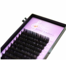 Lower False Eyelashes Australia - Fashion Song Lashes False Eyelash Extensions Soft Thin Tip New Products 0.03 Thickness Fashion