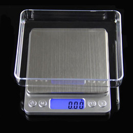scale wholesalers NZ - Portable Digital Jewelry Precision Pocket Scale Weighing Scales Mini LCD Electronic Balance Weight Scales 500g 0.01g 1000g 200g 3000g DHL