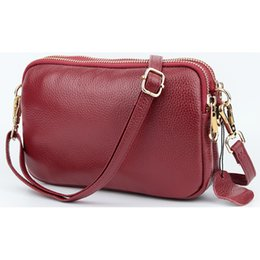 Wholesale New Arrivals Luxurious Cowhide Large Capacity Woman Hot Brand Designer High end Market Genuine Leather Messenger Bags J190505