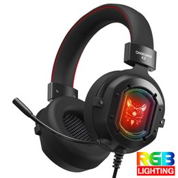 Games for xbox one online shopping - Gaming Headset Casque Stereo Game Headphones Earphone with Mic RGB LED Light for PS4 Pro Xbox One Switch Android IOS Phone ONIKUMA K3