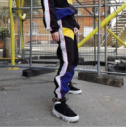$enCountryForm.capitalKeyWord Australia - Women High Waist Patchwork Pants Black Pencil Pants Streetwear Cargo Pants Loose Jogger Trousers Women 2019 Sweatpants
