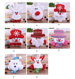 Cloth Bouquet Australia - LED Light Christmas Decorations Brooches Santa Snowman Reindeer Antiques Bouquet Owle Pin Up Designer Wedded Broach Scarf Clips Jewellerys