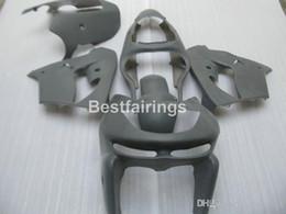 Custom zx9r fairings online shopping - Free custom paint body parts fairing kit for Kawasaki Ninja ZX9R grey fairings set ZX9R YW28