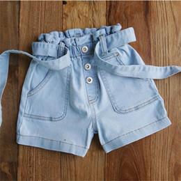$enCountryForm.capitalKeyWord NZ - Big Girls Shorts casual kids Jean Shorts Denim Children Shorts kids summer clothes girls pants kids designer clothes girls clothes A5232
