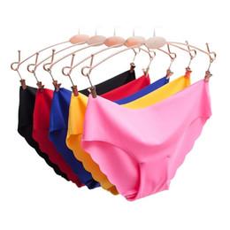 6d25051d914 Women Panties Underwear Ultra-thin Viscose Seamless Briefs For Women s  Comfort Low-rise Ruffles Sexy Lingerie Summer New Hot C19042101