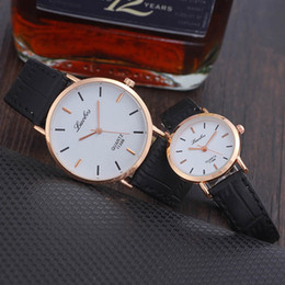 Vintage Girl Glasses Australia - Lover Best Gift Men Women New Design Casual Quartz 2019 Real Boys Girls Vintage Style Watches Couple Simple Fashion Wrist Watch