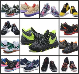 official photos 9eb91 0f1a1 2019 Limited 5 Taco Basketball Shoes 5s Black Magic for Kyrie Chaussures de  basket ball Mens Trainers Sneakers Zapatillas