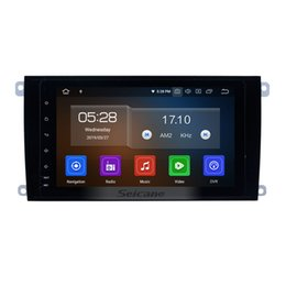 Porsche Screen Australia - 8 inch Android 9.0 HD Touchscreen Car GPS Navigation System for 2003-2011 Porsche cayenne with WIFI USB Bluetooth support DVR car dvd